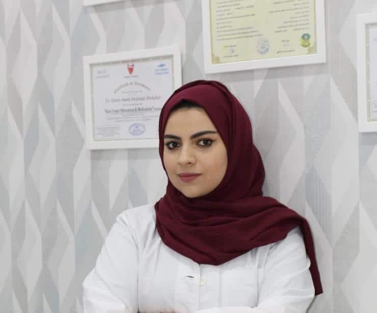 دكتورة دنيا عواد اخصائية طب وتجميل الأسنان افضل طبيبة اسنان في الرياض